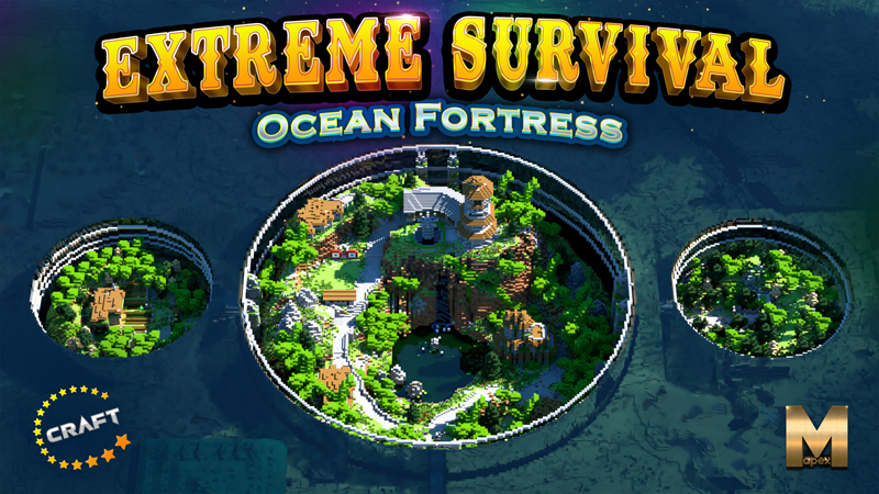 ExtremeSurvivalOcean Fortress on the Minecraft Marketplace by The Craft Stars