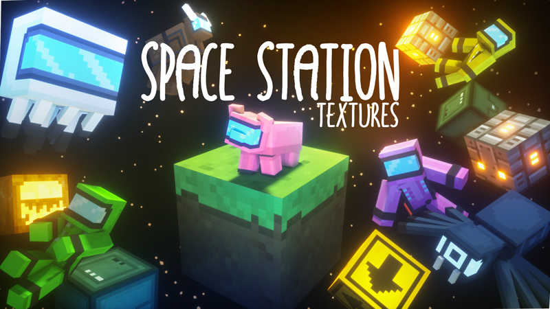 Space Station Textures on the Minecraft Marketplace by Owls Cubed