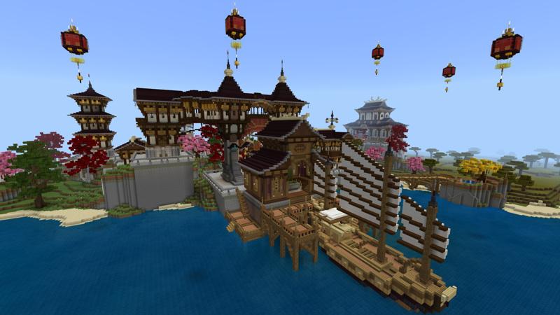 Utsukushi Village by Pixelusion