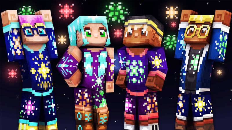 New Year Teens on the Minecraft Marketplace by 57Digital