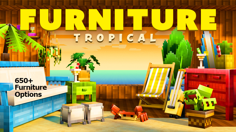 Furniture Tropical on the Minecraft Marketplace by Spark Squared