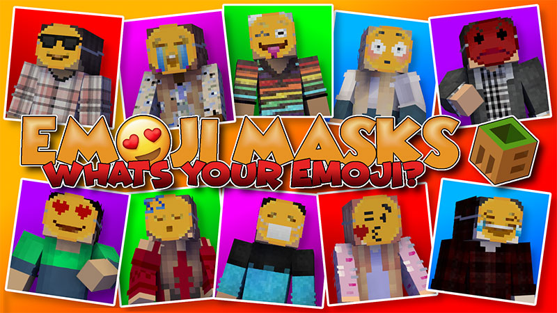 Emoji Masks on the Minecraft Marketplace by MobBlocks