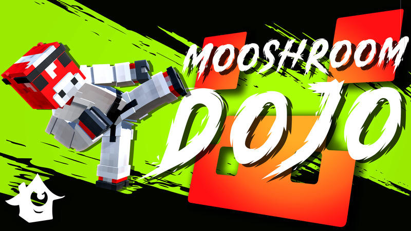 Mooshroom Dojo on the Minecraft Marketplace by House of How