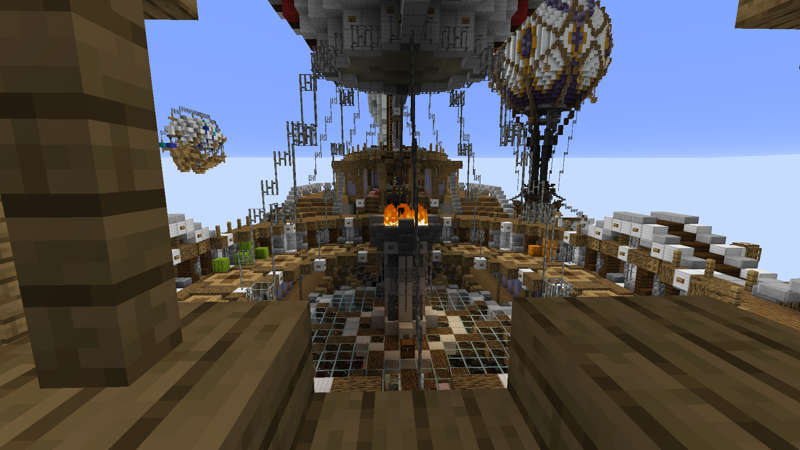 Skyship Expedition  on the Minecraft Marketplace by RareLoot