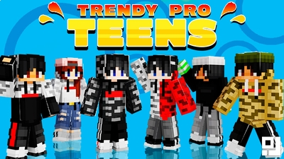 Trendy Pro Teens on the Minecraft Marketplace by inPixel