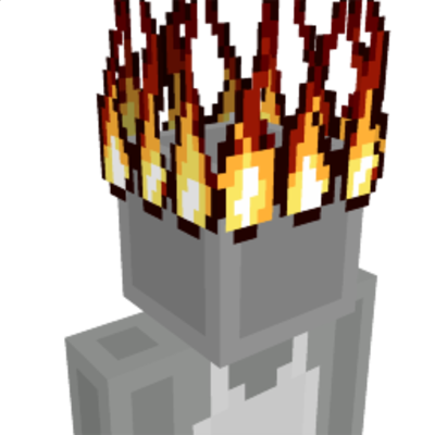 Flame Crown on the Minecraft Marketplace by The World Foundry