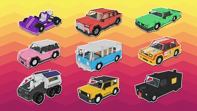 Cars Cars Cars on the Minecraft Marketplace by 57Digital