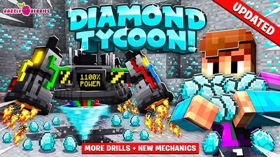 Diamond Tycoon on the Minecraft Marketplace by Razzleberries