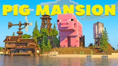 Pig Mansion on the Minecraft Marketplace by Vertexcubed