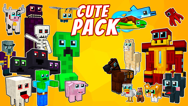 Cute Mashup Pack on the Minecraft Marketplace by VoxelBlocks