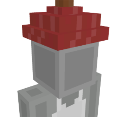 Red Plunger on the Minecraft Marketplace by Sova Knights