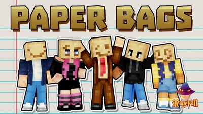 Paper Bags on the Minecraft Marketplace by Magefall