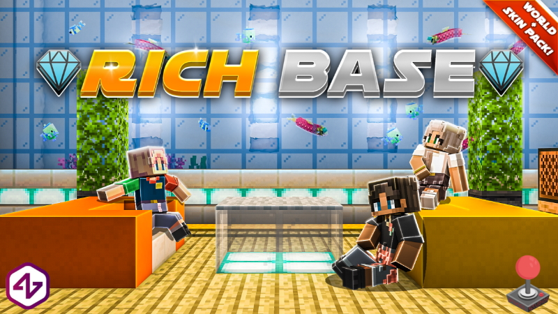 Rich Base on the Minecraft Marketplace by 4KS Studios