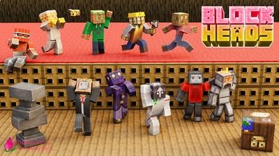Block Heads on the Minecraft Marketplace by Shaliquinn's Schematics