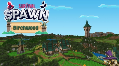 Survival Spawn Birchwood on the Minecraft Marketplace by Magefall
