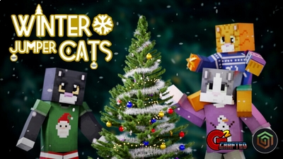 Winter Jumper Cats on the Minecraft Marketplace by G2Crafted
