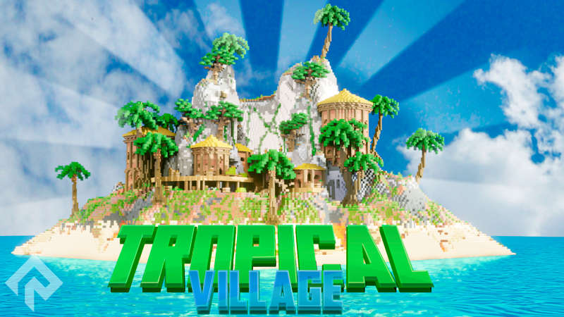 Tropical Village on the Minecraft Marketplace by RareLoot