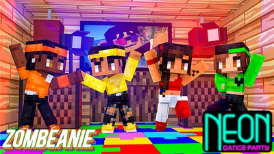 Neon Dance Party on the Minecraft Marketplace by Zombeanie