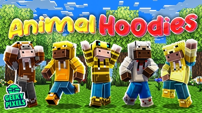 Animal Hoodies on the Minecraft Marketplace by Geeky Pixels
