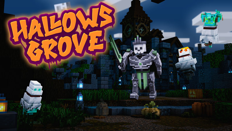 Hallows Grove on the Minecraft Marketplace by Blockception