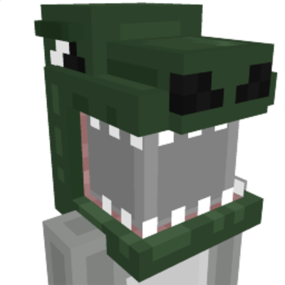 Dinosaur Head on the Minecraft Marketplace by Cubed Creations