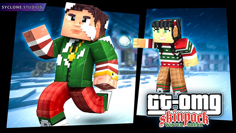 GTOMG Winter Break on the Minecraft Marketplace by Syclone Studios