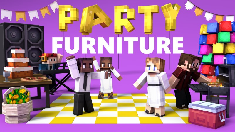 Party Furniture on the Minecraft Marketplace by Shapescape