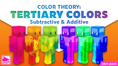 Color Theory Tertiary Colors on the Minecraft Marketplace by Lebleb