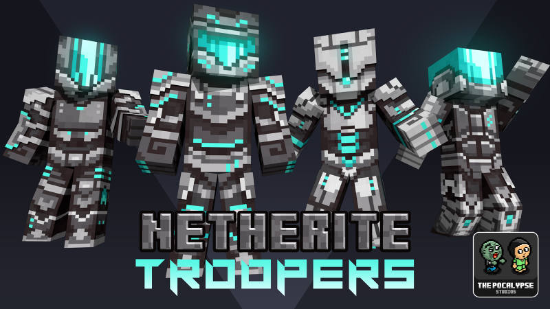 Netherite Troopers on the Minecraft Marketplace by BLOCKLAB Studios