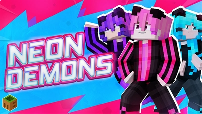 Neon Demons on the Minecraft Marketplace by MobBlocks