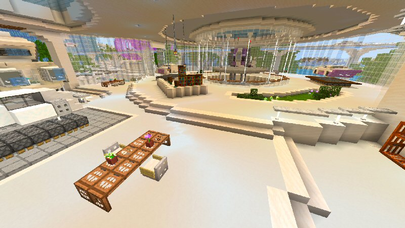 Quantum City on the Minecraft Marketplace by Shaliquinn's Schematics