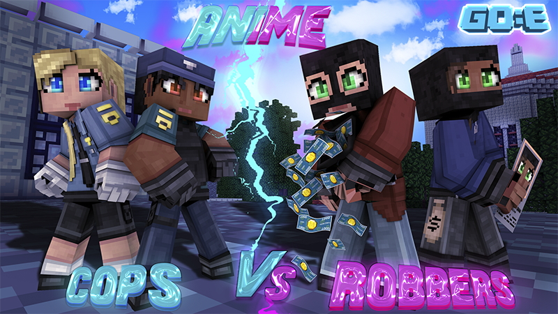 Anime Cops vs Robbers on the Minecraft Marketplace by GoE-Craft