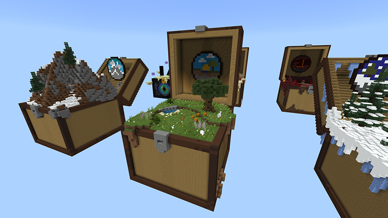 Skyblock Chests on the Minecraft Marketplace by 4KS Studios