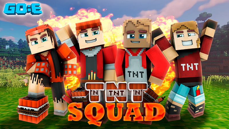 TNT Squad on the Minecraft Marketplace by GoE-Craft