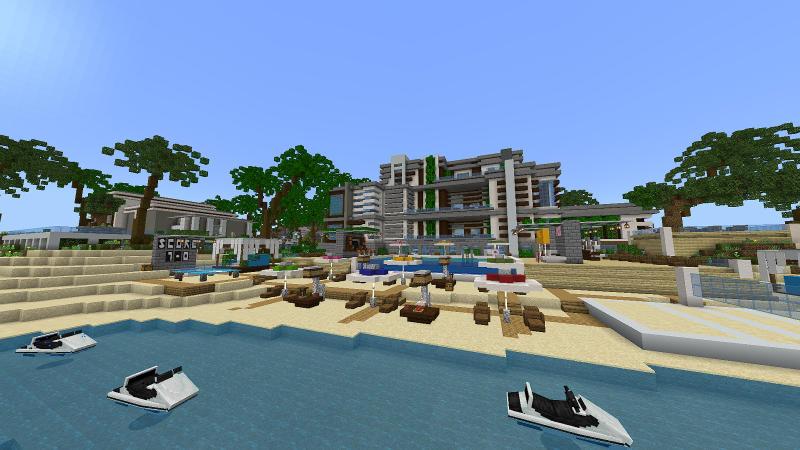 Billionaire Resort by BLOCKLAB Studios