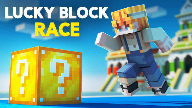 Lucky Block Race on the Minecraft Marketplace by BLOCKLAB Studios