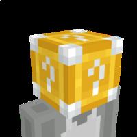 Lucky Block Helmet on the Minecraft Marketplace by BLOCKLAB Studios