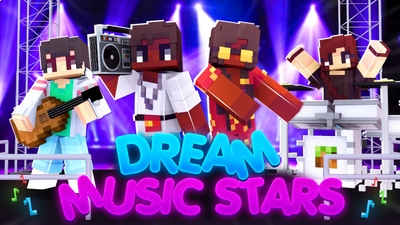 Dream Music Stars on the Minecraft Marketplace by Cynosia