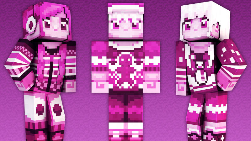 Pink Holiday on the Minecraft Marketplace by 57Digital