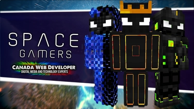 Free Form Space Gamers on the Minecraft Marketplace by Canada Web Developer