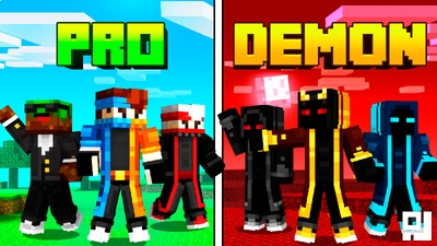 Pro VS Demon on the Minecraft Marketplace by inPixel