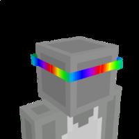 Rainbow Headband on the Minecraft Marketplace by The World Foundry