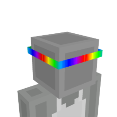 Rainbow Headband on the Minecraft Marketplace by The World Foundry