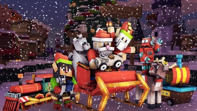 Elf Town Toy Trouble on the Minecraft Marketplace by 57Digital