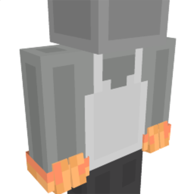 T Rex Gloves on the Minecraft Marketplace by King Cube
