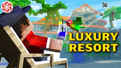 Luxury Resort on the Minecraft Marketplace by Everbloom Games