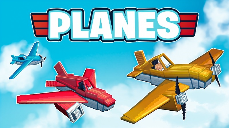 Planes on the Minecraft Marketplace by BBB Studios
