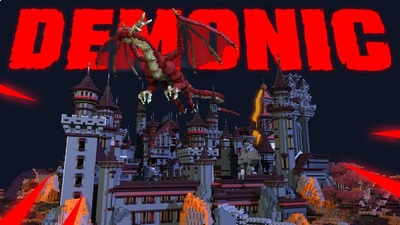 Demonic Castle on the Minecraft Marketplace by Vertexcubed
