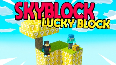 SKYBLOCK LUCKY BLOCK on the Minecraft Marketplace by Chunklabs