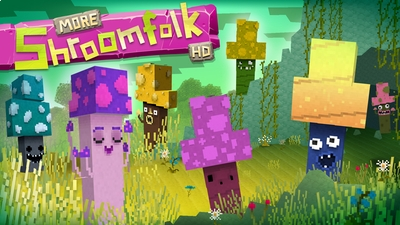 Jolicrafts More Shroomfolk HD on the Minecraft Marketplace by Jolicraft